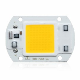 30W 1800LM LED Flood Light DIY COB Chip Bulb Bead 60x40mm AC220V White Light