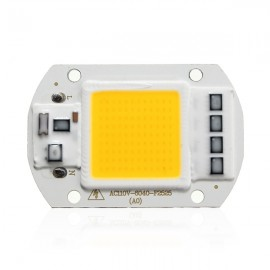50W 1800LM LED Flood Light DIY COB Chip Bulb Bead 60x40mm AC110V Warm White