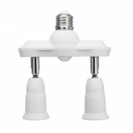 Infrared Motion Sensor E27 Bulb Adapter Socket Converter Splitter
