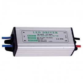 10W Waterproof High Power Supply LED Driver AC85-265V