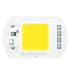 AC110V 50W White COB LED Chip 40X60mm for DIY Flood Light