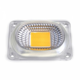 High Power 50W Warm White LED COB Light Chip with Lens for DIY Flood Spotlight AC220V