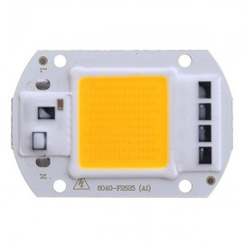 AC110V 50W Warm White COB LED Chip 40X60mm for DIY Flood Light