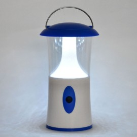 12-LED Camping Lamp White Light 1W 110lm 7000K White & Blue