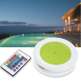 Outdoor LED Swimming Pool Light Waterproof RGB Solar Remote Control