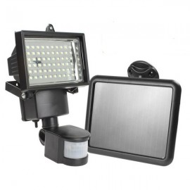 60 LED Motion Sensor Solar Power PIR Body Flood Light Outdoor Garden