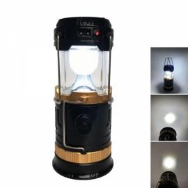 Solar Retractable Tent Lantern Portable LED Camping Lamp Medium Size