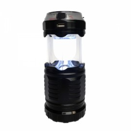 Portable Waterproof Solar Power Camping Light with RGB Projecting Lamp