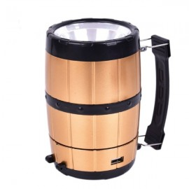 Retractable Camping Tent Solar Lantern Outdoor Portable Emergency LED Light Lamp Bronze