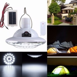 22-LED Solar Power Outdoor Camping Tent Light Remote Control Yard Lamp