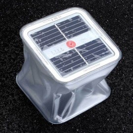 Inflatable 10 White LED Garden Lawn Solar Light Outdoor Camping Waterproof Emergency Lamp White