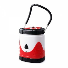 Outdoor Portable USB Rechargeable Camping Light Lantern Tent Lamp Red