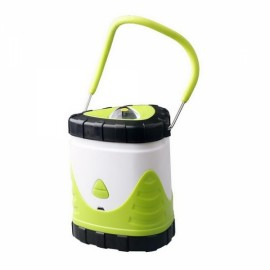 Outdoor Portable USB Rechargeable Camping Light Lantern Tent Lamp Green