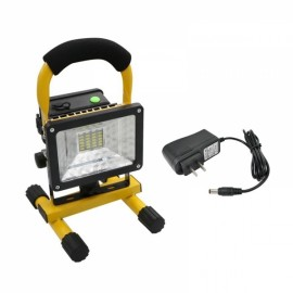 24 LED Portable Magnetica Work Rechargeable Flood Light Lamp