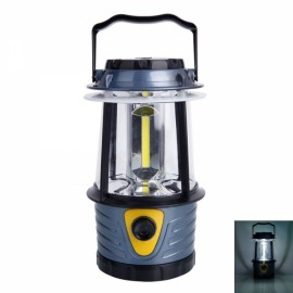 Portable Outdoor COB Adjustable Brightness Camping Light Lamp Gray