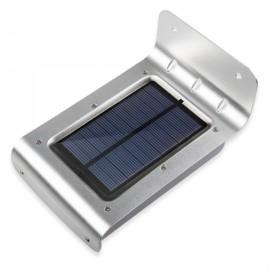 16 LED Solar Power Motion Sensor Wall Light Garden Yard Waterproof Human Body Sensor + Weak light