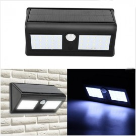 Outdoor 40 LED Solar Power PIR Motion Sensor Wall Light Waterproof Garden Lamp