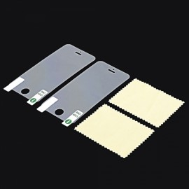 2pcs High Definition Screen Protectors for iPhone 5/5C/5S/SE Transparent