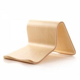 Creative Tablet PC Wooden Bracket Holder Scaffold Light Wood Color