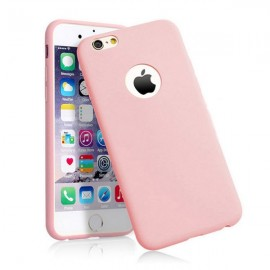 Candy Color Ultra Light Slim Soft TPU Silicone Case for iPhone 6/6S Pink