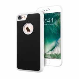 Anti Gravity Nano Suction Sticky Magic Case Cover for iPhone 6/6s White