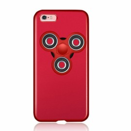 Finger Spinner Decompression Gyro Red Shell Red Gyro For iPhone 7 Plus