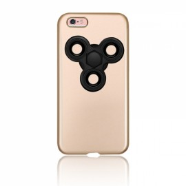 Finger Spinner Decompression Gyro Coque Golden For iPhone 7 Plus
