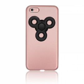 Finger Spinner Decompression Gyro Rose Gold For iPhone 7 Plus