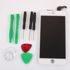 LCD Touch Screen Assembly with Disassemble Tools for iPhone 6 Plus White