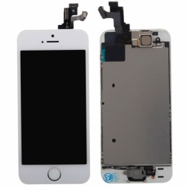 Fully-equipped LCD Touch Screen Assembly for iPhone 5SE White