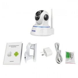 ESCAM QF002 WIFI 720P P2P Night Vision IP Camera AU Plug White