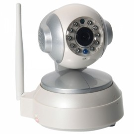 CTV-101HD Wireless Wifi HD 720P CMOS P2P PTZ IP Network Camera White