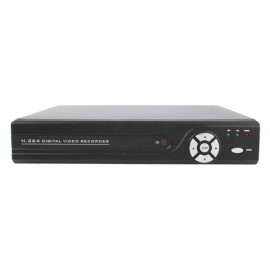 H.264 4-CH Security CCTV DVR Support SATA HDD Network Remote Access PTZ Control E5