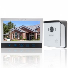 """ACTOP VDP-320+CAM-212 7"""" TFT Touch Screem Video Door Phone with Infrared Camera"""