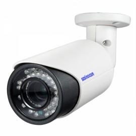 Sinocam 2.0MP Onvif 2.8-12mm Bullet P2P Indoor Outdoor IP Camera White
