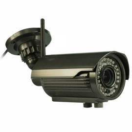IPCC-B24L 2.8-12mm 1080P 2.0MP P2P H.264 ONVIF 2.2 Infrared Wireless Outdoor Waterrpoof IP Camera Black
