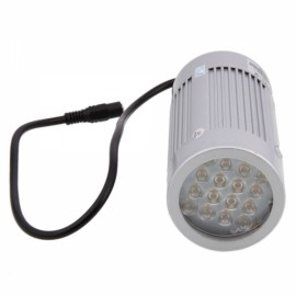 16-LED Infrared Illuminator Lamp for CCTV Camera Silver