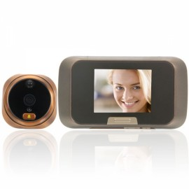 "HQS-1108 2.8"" TFT 32GB SD Card Electronic Peephole Viewer Cat Eye Doorbell"