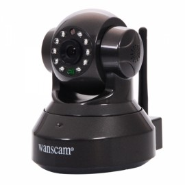 Wanscam JW0012 Wireless Wifi Night Vision Indoor Security P2P IP Camera with Motion Detection / TF Card Slot Black