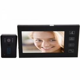 "7"" TFT Wired SY806MJID11 Video Door Phone Intercom (1 Camera with 1 Monitor) + 5Keytags"
