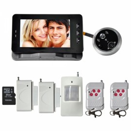 Danmini YB-50GAT-1 Digital Door Peephole Camera GSM MMS IR Viewer with Motion Detection