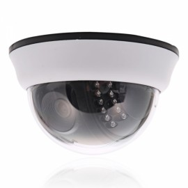 "1/4"" CMOS 1000TVL NTSC IR-CUT 22-LED 3.6mm Dome Indoor Security Camera"