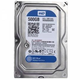 """500GB 16MB Cache 7200RPM SATA3 3.5"""" Desktop Hard Drive WD5000AAKX"""