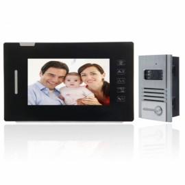 """ACTOP 7"""" LCD Touch Key Video Door Phone Doorbell Home Security Intercom"""