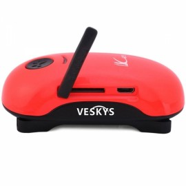 VESKYS Mini Waterproof GPS GSM Tracker Alarm Tracking Anti-Lost for Car Kid Pet Red
