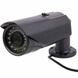 HD 960P 36-IR LED Outdoor Array Long Shape Nertwork IP Camera Korea Gray