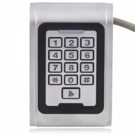 S100EM Waterproof Type Metal Keypad Door Access Control Silver
