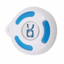 Wireless Bluetooth Anti-lost Alarm Device with Loudspeaker Function White
