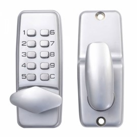 High Security Mechanical Password Door Lock OS380S Silver
