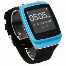 S12 New Stylish Wearable Anti-lost Touch Screen Bluetooth V4.0 Smart Watch Blue